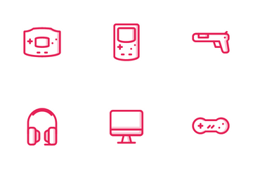 Console Game Icon Pack