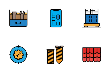 Construction And Architecture Icon Pack