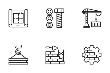 Construction And Industry Icon Pack