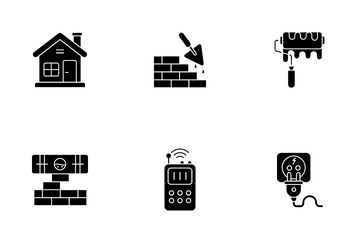 Construction And Projects Icon Pack