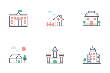 Construction And Real Estate Icon Pack
