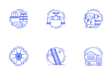 Construction And Repair Icon Pack