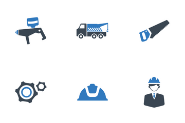 Construction And Tools Icon Pack