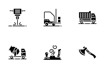 Construction And Tools Vol.2 Icon Pack