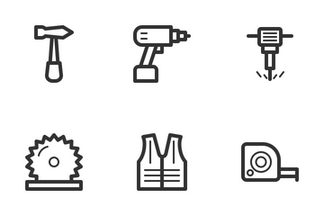 Construction & Building Icon Pack