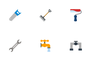 Construction Flat Icon Pack