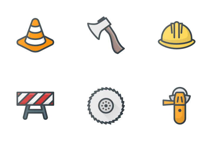 Construction & Industry Icon Pack
