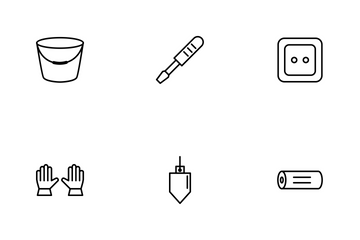 Construction Line Icon Pack