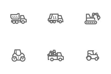 Construction & Machine Icon Pack