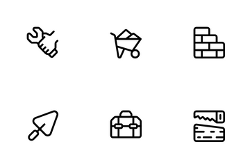 Construction Project Icon Pack