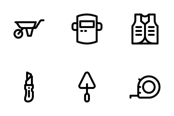 Construction Tool Icon Pack