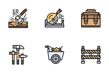 Construction Tools Icon Pack
