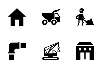 Construction Vector Icons Icon Pack