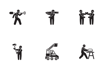 Construction Worker 1 Icon Pack