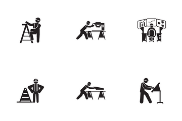 Construction Worker 2 Icon Pack