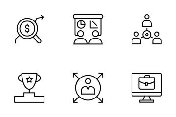 Consumer Behaviour Icon Pack