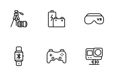 Consumer Electronic Icon Pack