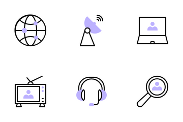Contact Icon Pack