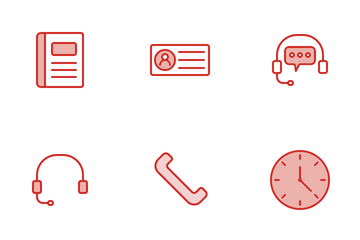 Contact And Support Icon Pack