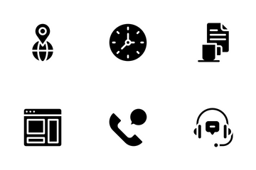 Contact Us Icon Pack