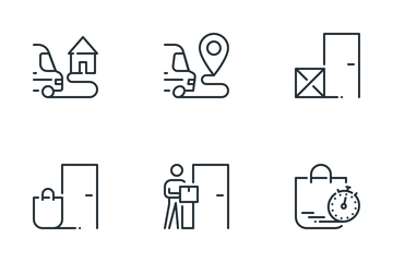 Contactless Commerce Icon Pack