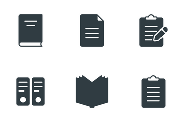 Content & Copyrighting  Icon Pack