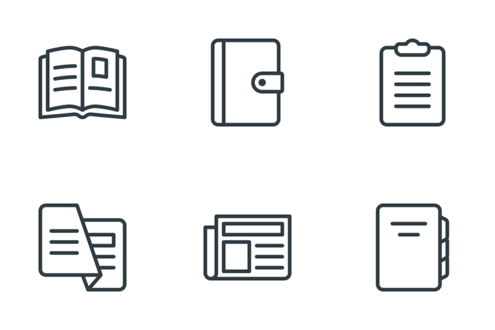 Content & Copywriting Icon Pack