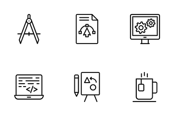 Content Design Production Icon Pack