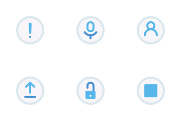 Control Button Icon Pack
