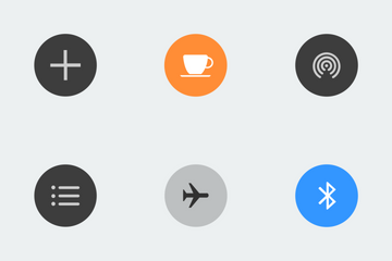 Control Pad Shortcuts Colour Icon Pack