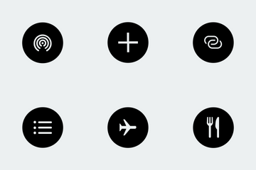 Control Pad Shortcuts Rounded Icon Pack