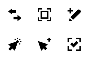 Controls And Arrows Icon Pack