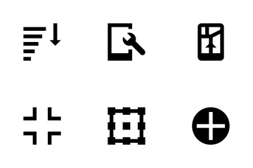 Controls And Arrows Vol 2 Icon Pack
