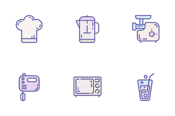 Cook & Kitchen Icon Pack