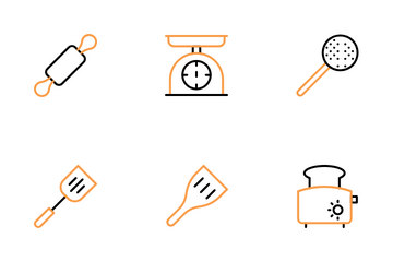 Cooking And Kitchen Icon Pack