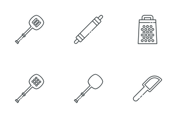 Cooking & Baking Icon Pack