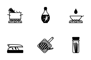 Cooking (glyph) Icon Pack