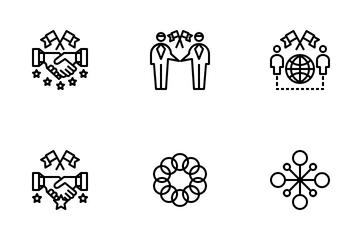 Cooperation Icon Pack