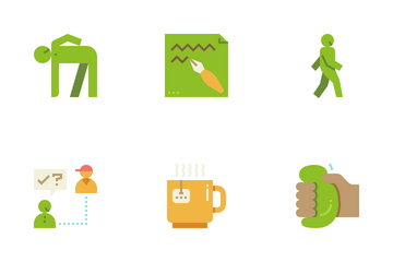 Coping Skills Icon Pack