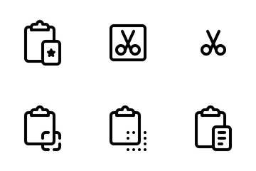 Copy Paste Icon Pack