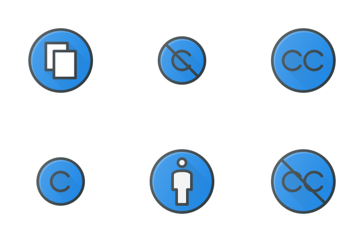 Copy Right Icon Pack