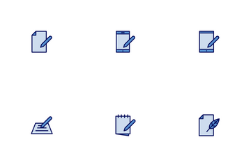 Copy Writing Icon Pack