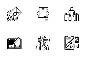 Copywriting Icon Pack