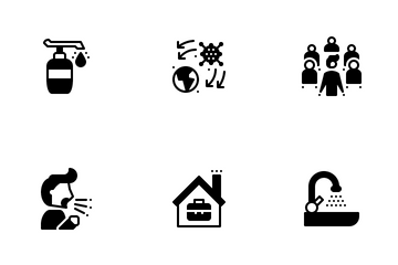 Virus Pandemic Icon Pack