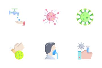 Corona Virus Icon Pack