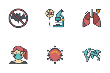 Corona Virus Icon Pack