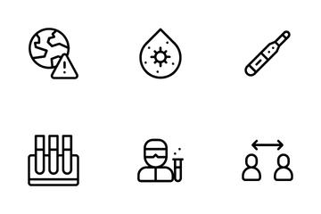 Coronavirus Icon Pack