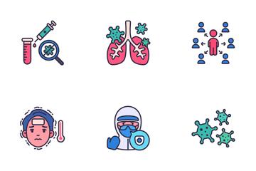 Coronavirus (COVID-19) Icon Pack