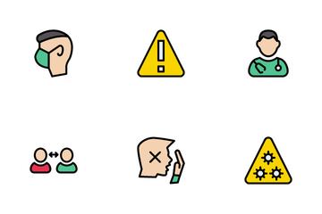 Coronavirus Information Icon Pack