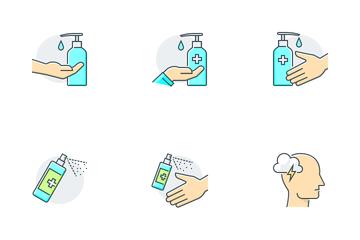 Coronavirus Protective Icon Pack